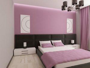 دهن حوائط غرف النوم