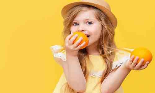 فيتامين سي للآطفال